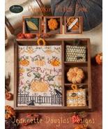 Pumpkin Patch Box cross stitch chart Jeanette D... - $13.50