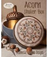 Acorn Shaker Box cross stitch chart Jeanette Do... - $7.65