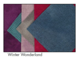 **Show Special***Winter Wonderland Wool Bundle Finishing Fabric Weeks Dye Works - $30.00