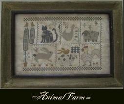 Animal Farm cross stitch chart Nikys Creations  - $12.60