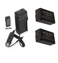 Two 2 X Dmw Blc12 Dmw Blc12 E  Dmw Blc12 Pp Batteries + Charger For Panasonic - $32.32