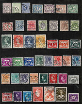 NETHERLANDS  Collection of used stamps DL-196 - $1.97