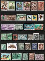 BRITISH COLONIES & TERRITORIES---LOT of USED & UNUSED  DL-194 - $1.97