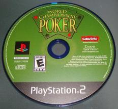 Playstation 2   Crave   World Championship Poker (Game Only) - $6.25