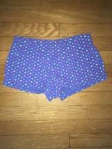 * xhilaration rainbow heart print pj pajama shorts bottoms only small 10... - $4.95