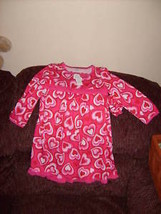 The Children's Place Hearts Dress W/Hair Piece  Size 4 Girls NEW HTF  - $39.99