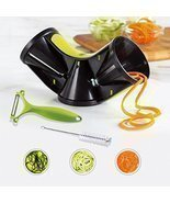 Joiedomi Vegetable TriBlade Spiralizer Bundle Spiral Slicer Pasta - $21.88 CAD