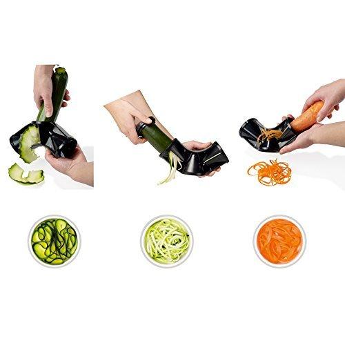 Joiedomi Vegetable TriBlade Spiralizer Bundle Spiral Slicer Pasta