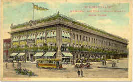 Churchills Deptartment Store New York City Vintage Post Card - $6.00