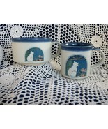 "OTAGIRI ""CAT and FLOWERS"" SOUP BOWL with MATCHING MUG SET - NICE PAIR!! - $29.98"