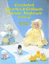 Crocheted 33 Projects *Dolls 1982 Favorites & Original Jessie Abularach *Vol 5 - $11.98