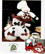 4 GINGERBREAD DRESSED GIRL & BOY DOLLS OOP SIMPLICITY 9880 CRAFT SEWING ... - $14.98