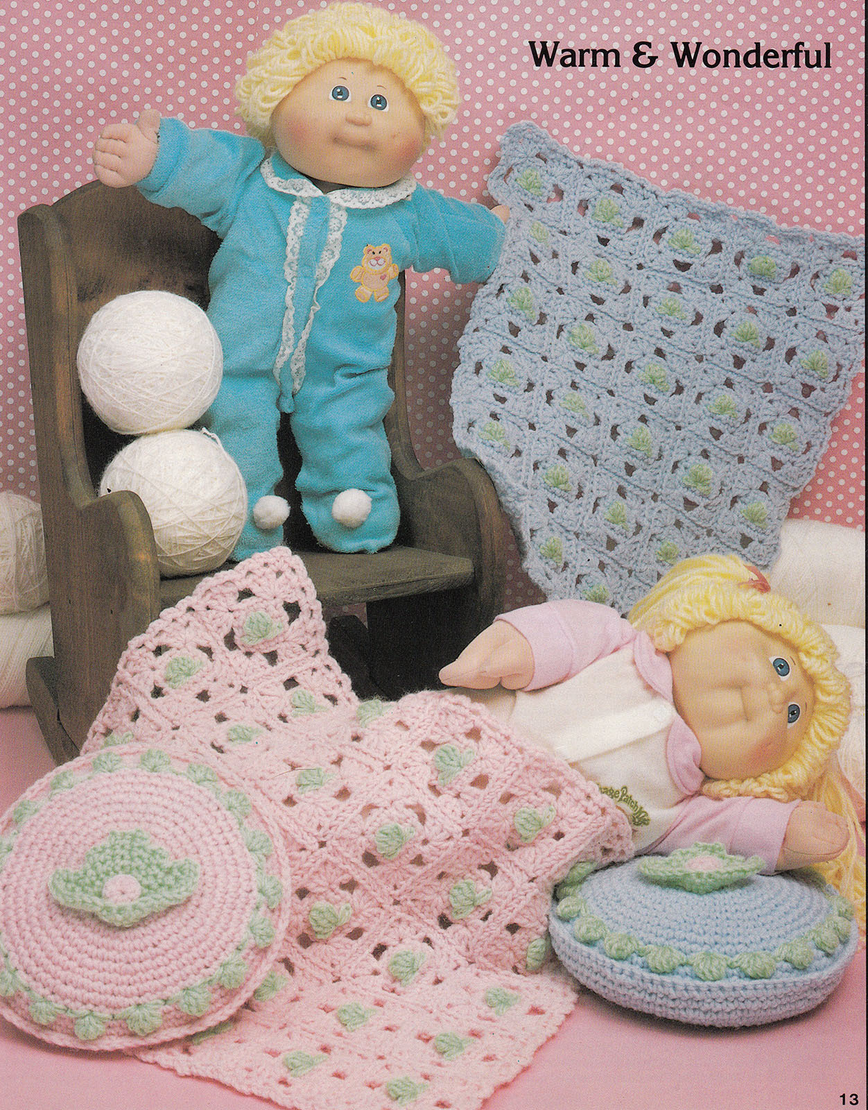 Crochet Cabbage Patch Doll Funwear Cowpoke and 15 similar items
