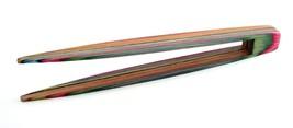 """Norpro 5730 Rainbow Wood Toaster Tongs 9-1/4"""" - $9.49"""