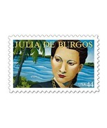 2010 44c Julia de Burgos, Puerto Rico's illustrious poet Scott 4476 Mint... - €1,05 EUR