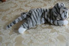 "Rare Ty Original Beanie Babies ""Prance"" The Grey Stripe Cat/Retired Errors Mint image 4"