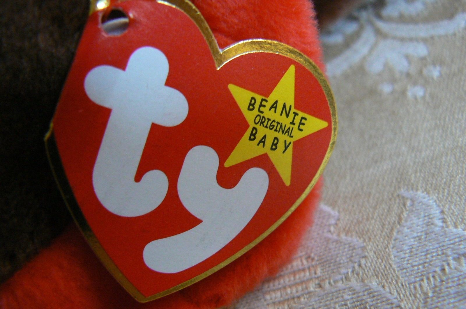 "Rare Ty Original Beanie Babies ""Gobbles"" The Turkey/Retired Errors Mint image 7"