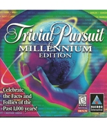 Trivial Pursuit Millennium Edition CD ROM Hasbr... - $2.99
