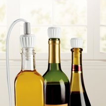 FoodSaver 3Pack Bottle Stoppers h460 l230 w490 w15 T03-0024-02P Kitchen - $22.01