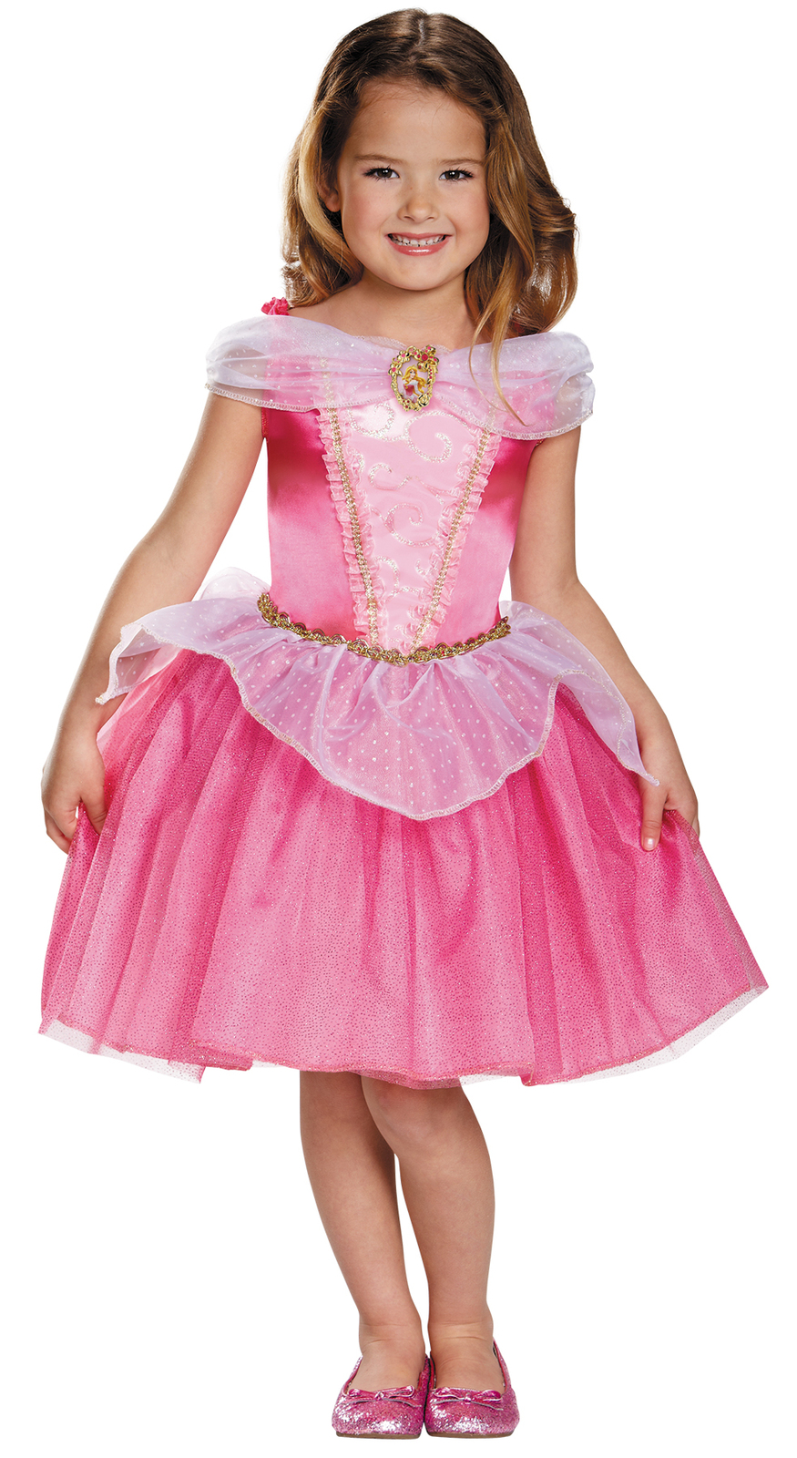 Toddler Size 3T-4T Princess Aurora Classic Halloween Costume Licensed Disney