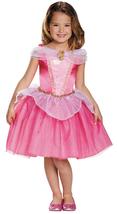 Girls Size 4-6 Princess Aurora Classic Halloween Costume Licensed Disney - £31.02 GBP