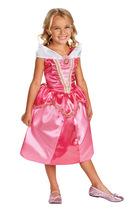 Girls Sparkle Princess Aurora Classic Halloween Costume Licensed Disney - $39.45