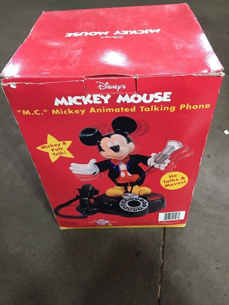 """a5fe632ea7d2a7 Disney's """"M.C.""""Mickey Mouse Animated Talking and 48 similar items"""