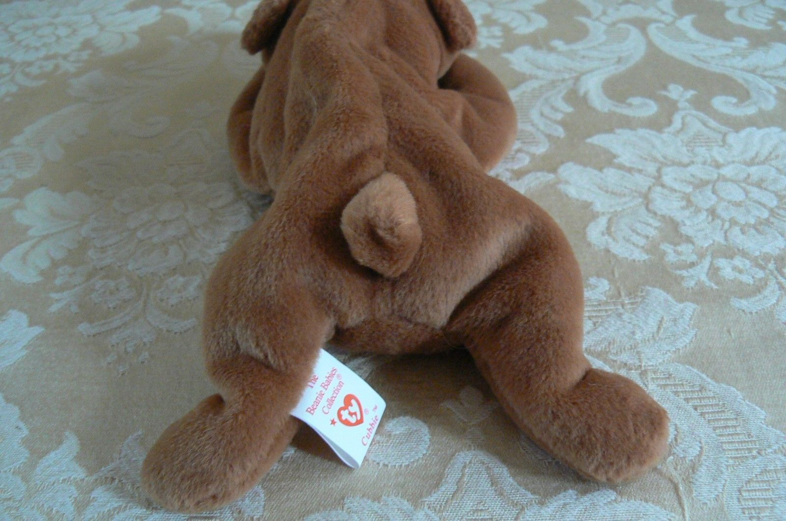 "Rare Ty Original Beanie Babies "" Cubbie "" The Brown Bear /Retired Errors Mint  image 3"