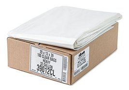 Plasticplace Clear Garbage Bags 33x39 33 Gal 10... - $41.85
