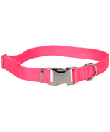 Sterling Solid Collection Dark Pink Collar for ... - $9.99 - $12.99