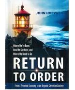 Return To Order - $21.95