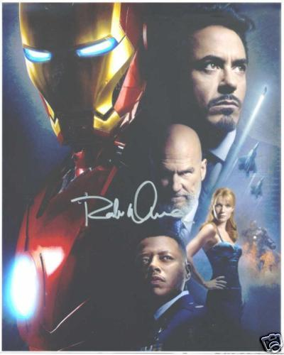 ROBERT DOWNEY JR AUTOGRAPHED 8x10 RP PHOTO IRON MAN AVENGERS