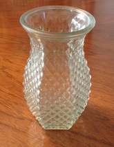 HOOSIER Glass Vase #4071 - $8.00
