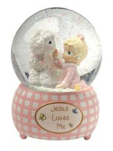 Precious Moments Baby Gifts Jesus Loves Me Snow... - $38.99