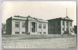 Greeley CO Public Library City Hall 1911 Vintage Colorado Postcard - $6.69