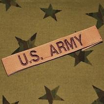 US Army Desert Combat / DCU Assault Patch - 'A' bag / 'B' bag use? Unuse... - $9.89
