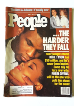 People Magazine Mike Tyson Robin Givens The Boss & Julianne June 27 1988 - $16.82