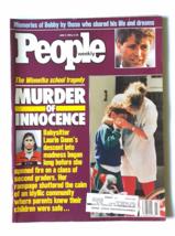 People magazine Winnetka School Tragedy murder Bobby Kennedy June 6 1988 - $20.30