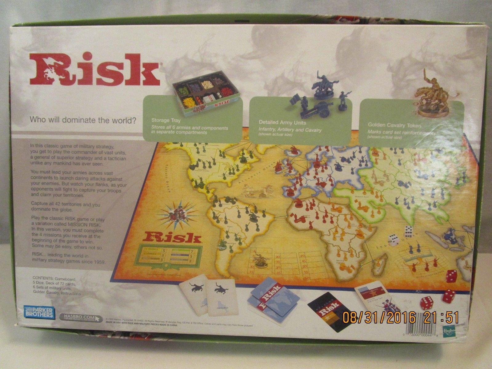 Risk global domination board