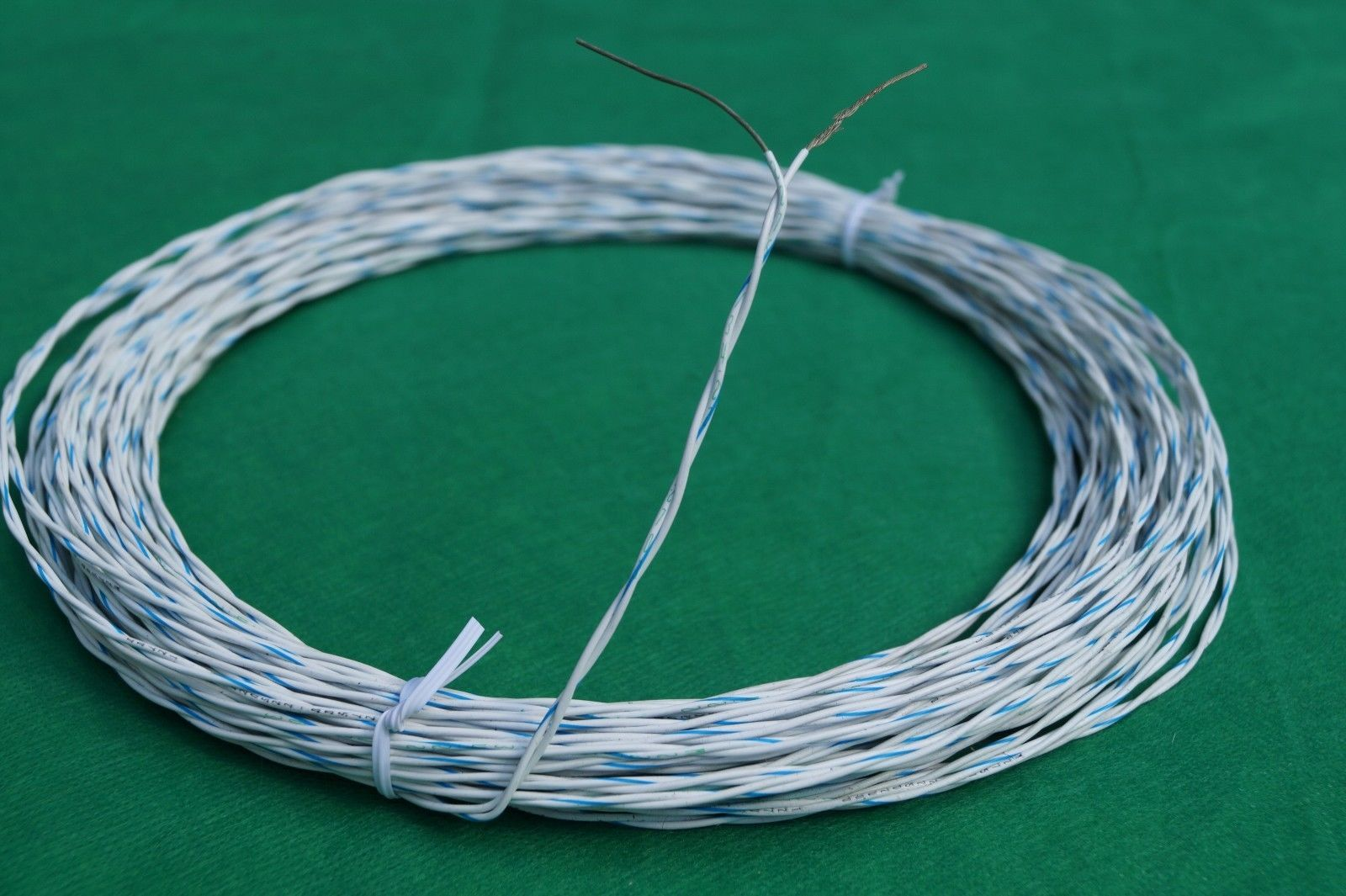 Silver Electrical Cable : Ft mil spec silver plated etfe awg electrical wire