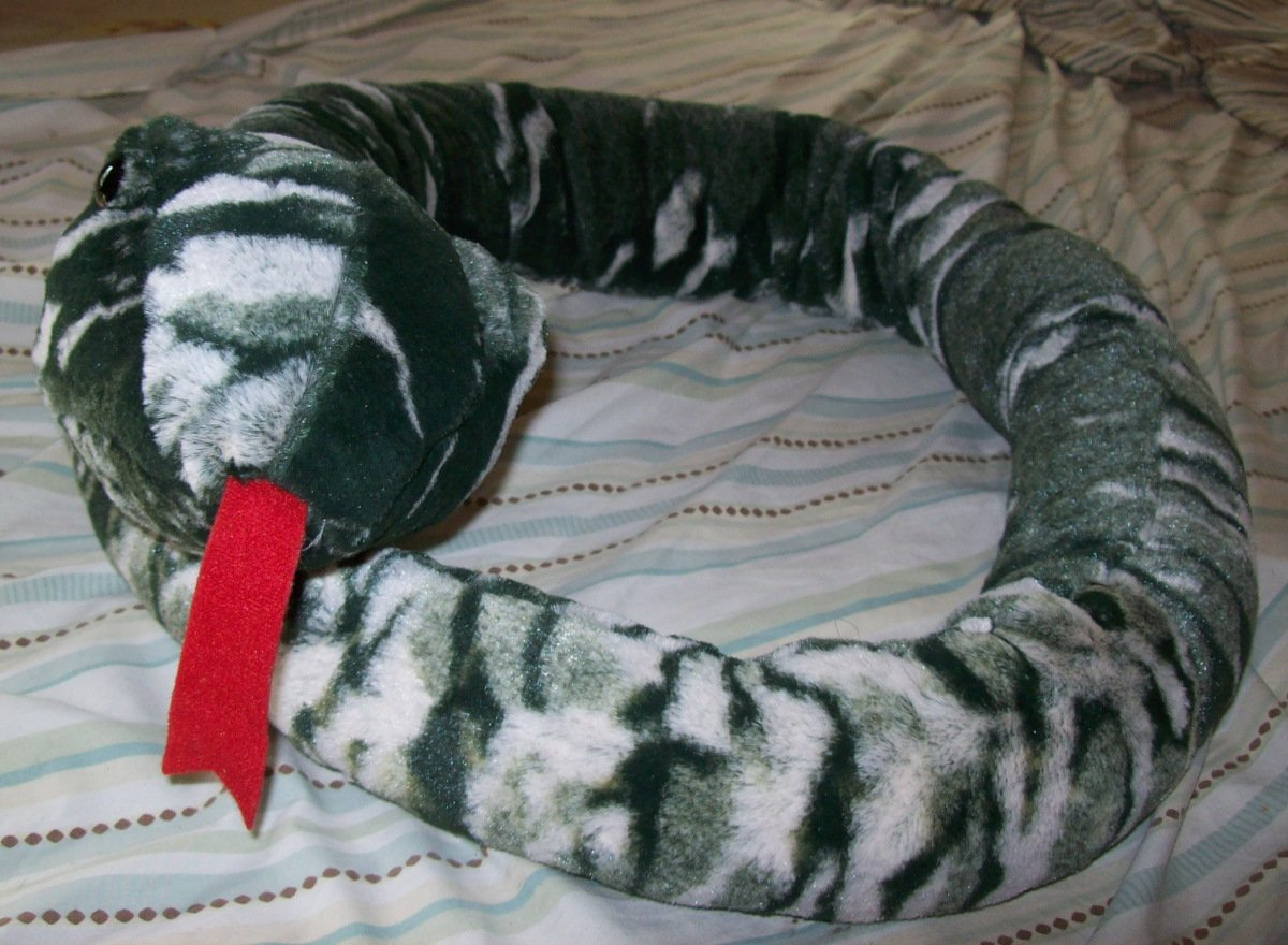 Plush 60 Inch Camouflaged Racer