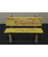 Coca Cola - Miniature Bench - Handmade - $18.99