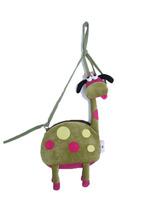 Giraffe Shoulder Bag Girls /kids Animal/ Small Handbag/ purse/cross-body - $9.99
