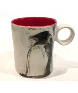 Penguin Coffee Mug Uniquely Shaped Elegant 14oz. - $18.99