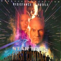 Star Trek First Contact Laserdisc Widescreen  laser disc - $5.99