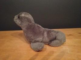 "Vintage DAKIN Gray Grey Seal  - 1976 - 9"" Plush... - $29.70"