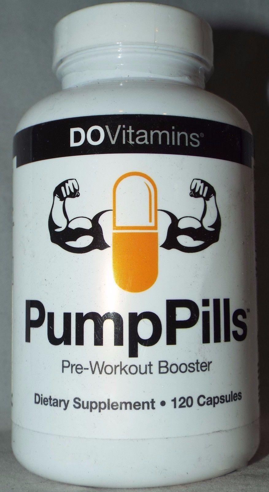 Pump Pills / Pre-Workout Booster & Dietary