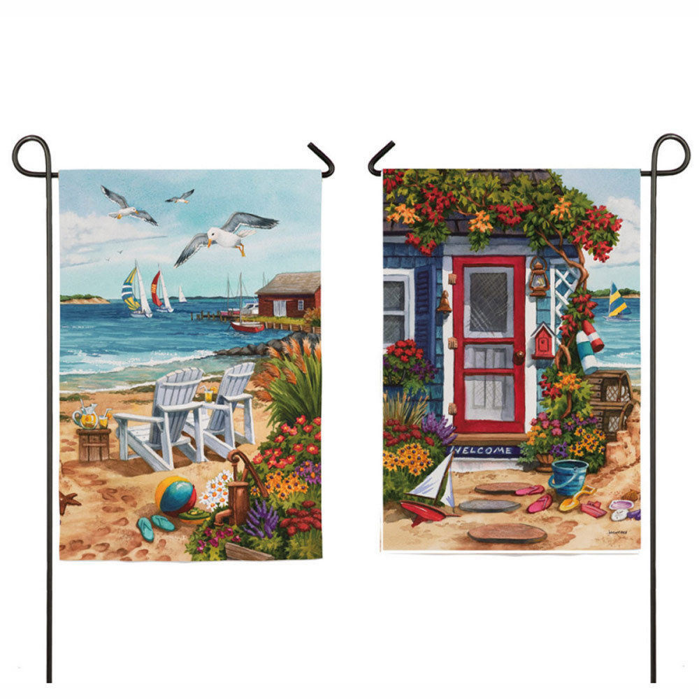 Evergreen Large Decorative House Garden Flag 29x43 Double
