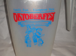 Collectable Oktoberfest Edelweiss Club BEER PITCHER - $9.95