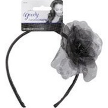 Goody FashioNow Chiffon Flower Headband, Black - $8.90